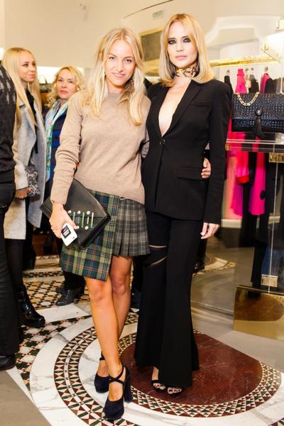 Селебрити на презентации осенней коллекции Versace   галерея [1] фото [1]