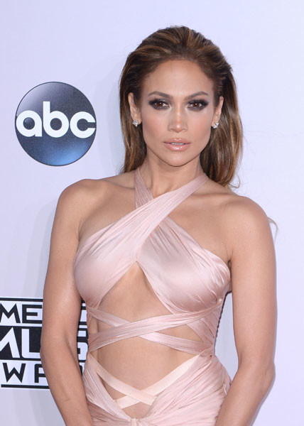 Дженнифер Лопес на церемонии American Music Awards 2014