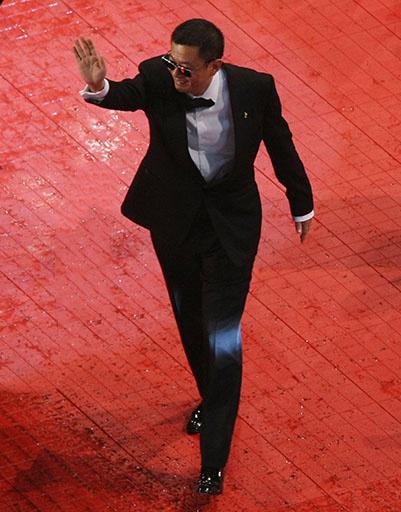 Вонг Кар Вай на открытии Берлинского кинофестиваля-2013