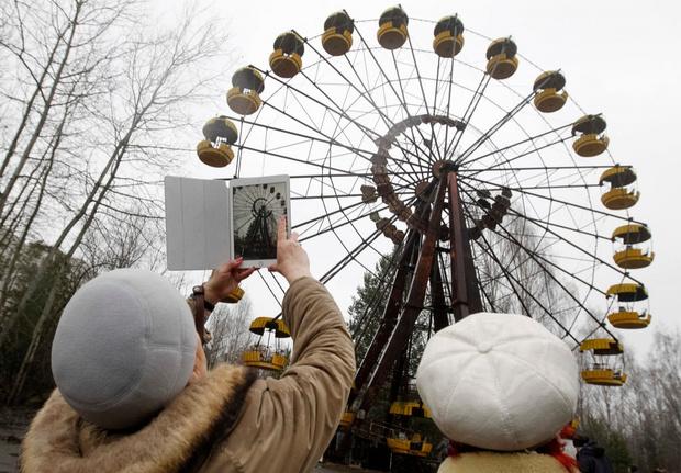 Фото №5 - Как выглядит Чернобыль спустя 35 лет после катастрофы