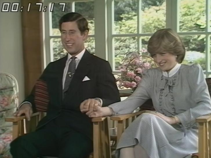 Фото №5 - Не в своей тарелке: о чем говорил язык тела Дианы на первом совместном интервью с Чарльзом