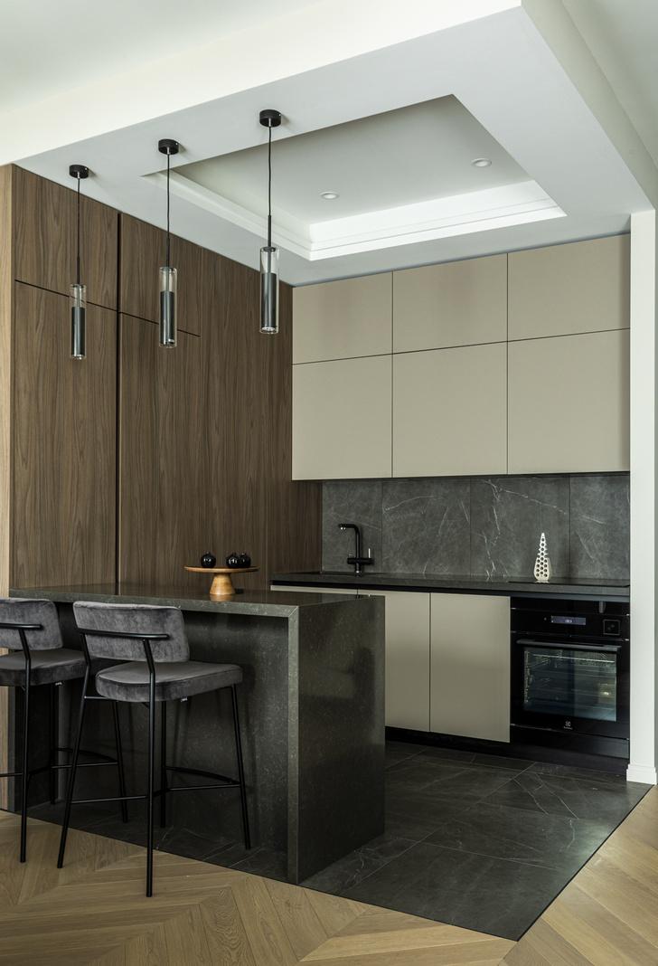 Фото №6 - Европейский интерьер московской квартиры 90 м² для иностранца