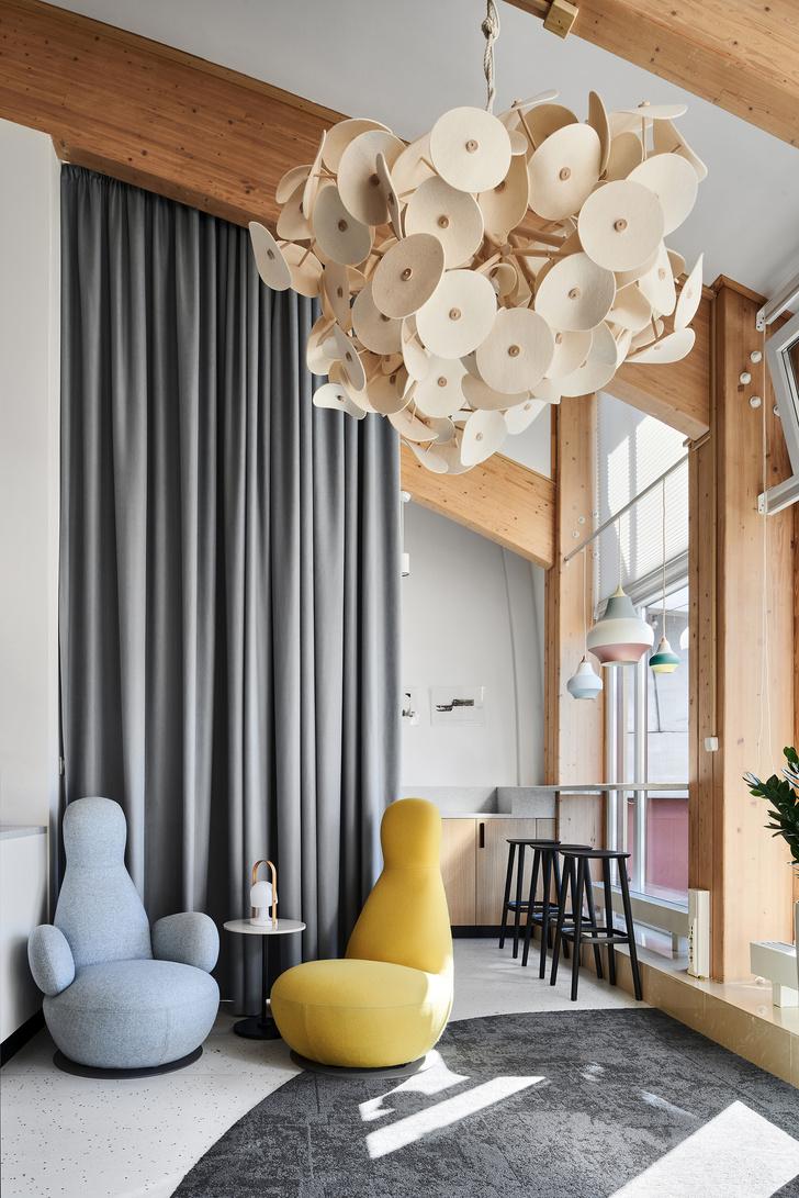Фото №16 - Уютный офис в скандинавском стиле с верандой в Петербурге