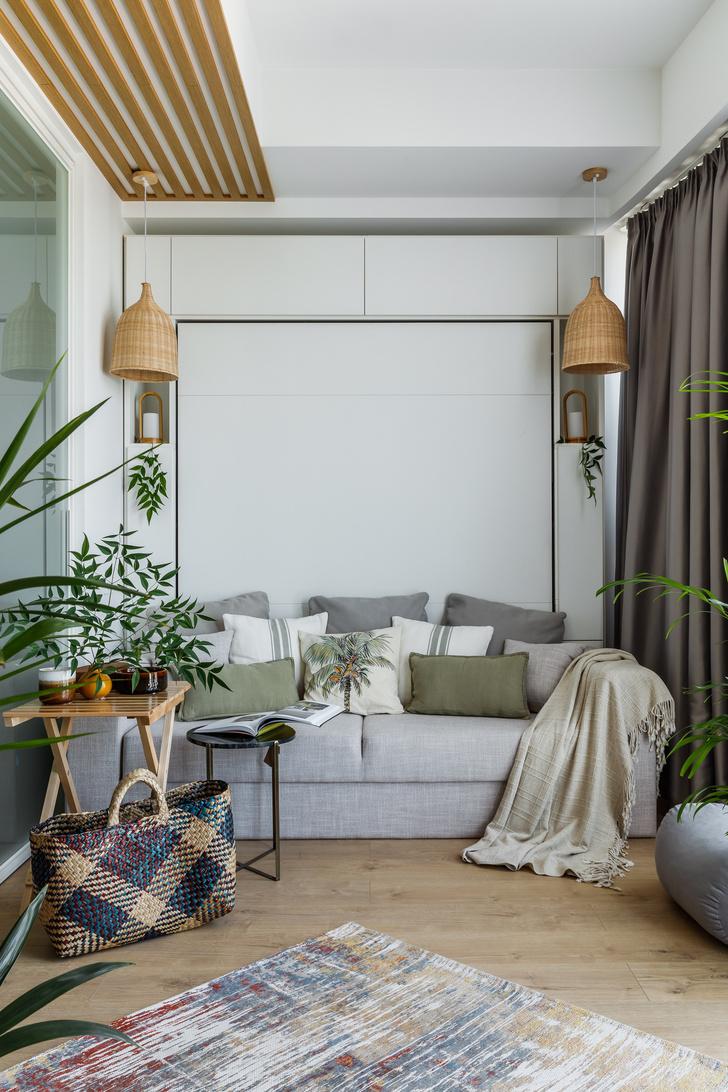 Фото №10 - Бохо шик: квартира 59 м² для молодой девушки