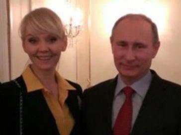 Валерия и Владимир Путин