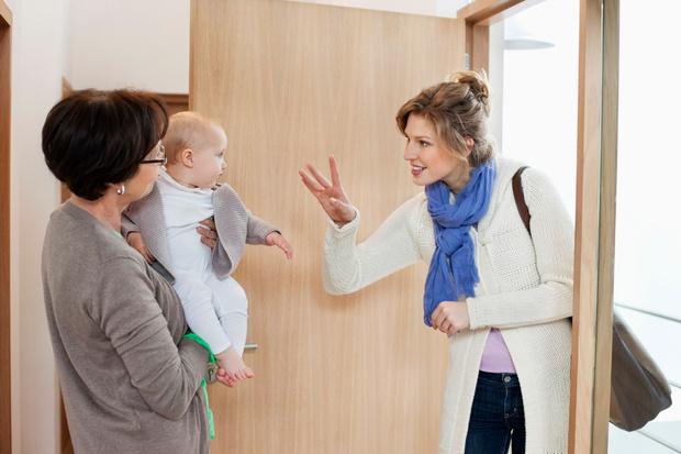 Фото №2 - Как помочь малышу пережить разлуку с мамой