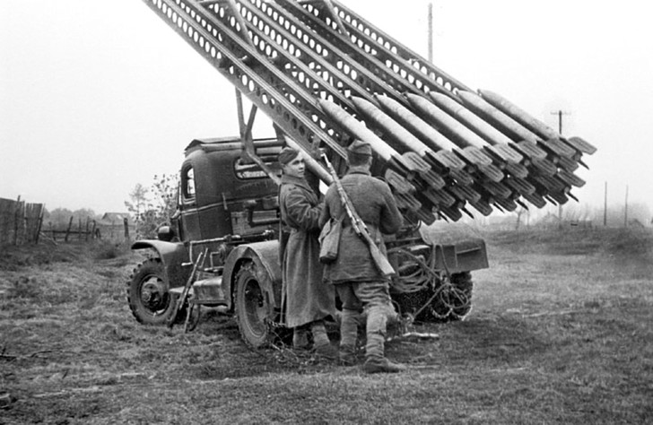 Фото №2 - «Андрюша»— брат «Катюши»: история реактивного миномета БМ-31