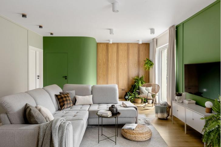 Фото №3 - Зеленая квартира 98 м² в Варшаве