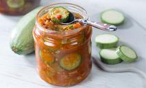 Жаренные кабачки с овощами