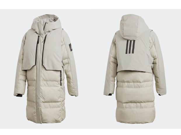 Фото №1 - White fall: непромокаемый пуховик adidas MYSHELTER COLD.RDY для самой непредсказуемой погоды