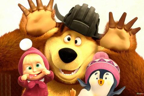 Фото №1 - Считаете ли вы мультфильм «Маша и медведь» опасным для психики ребенка?