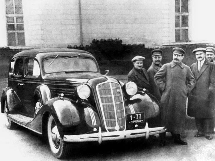 Фото №1 - Первый лимузин Страны Советов, или С кого слизали ЗИС-101