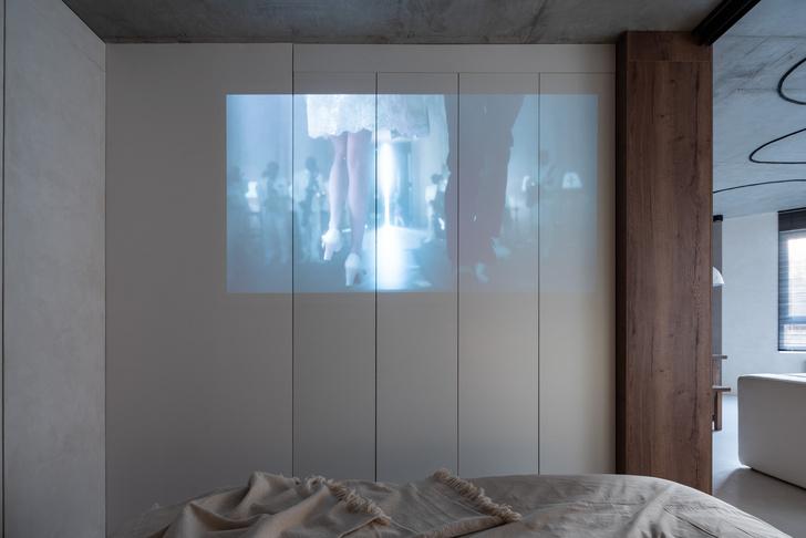Фото №5 - Белая студия со спальней в алькове