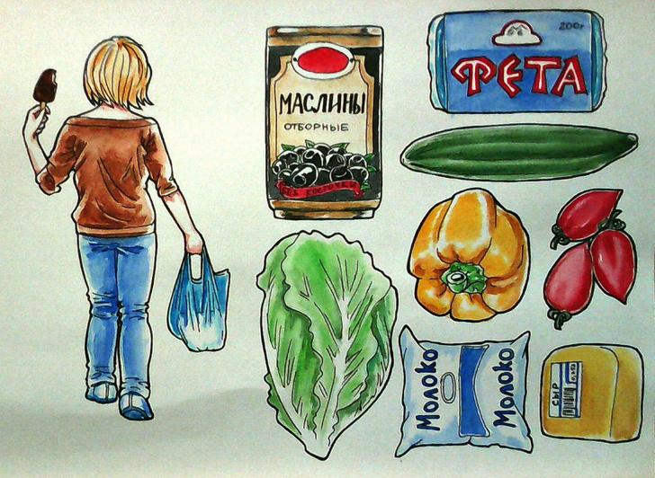 Анна Пензина рисует каждый свой день