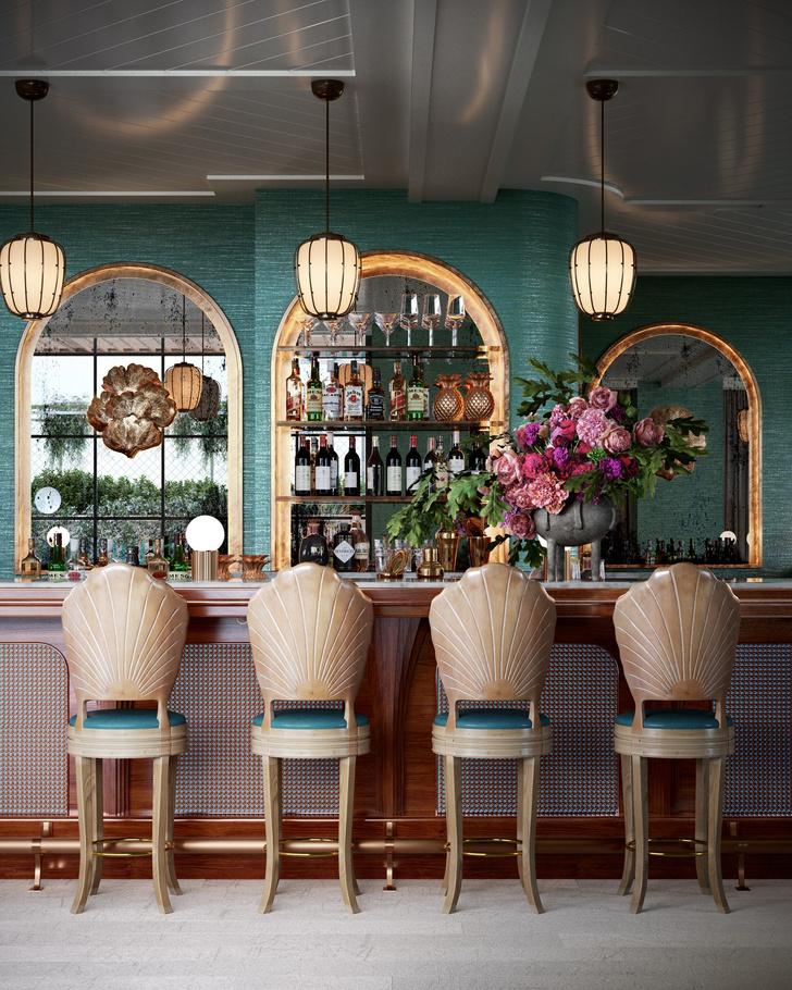Фото №10 - The Goodtime Hotel: атмосферный отель в Майами по дизайну Кена Фалка