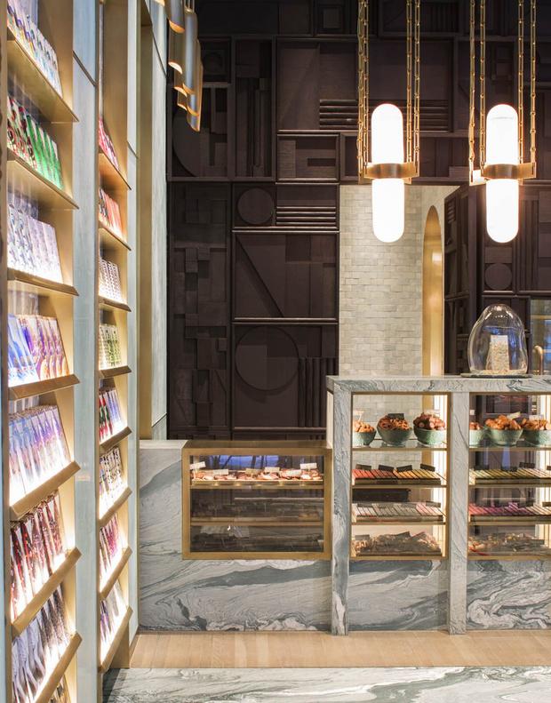 Фото №6 - Шоколадная фабрика: кондитерская Compartes по дизайну Келли Уэстлер