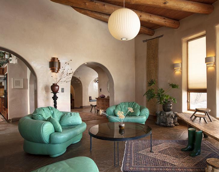 Фото №1 - Дизайнерское ранчо в Нью-Мексико для сдачи в аренду