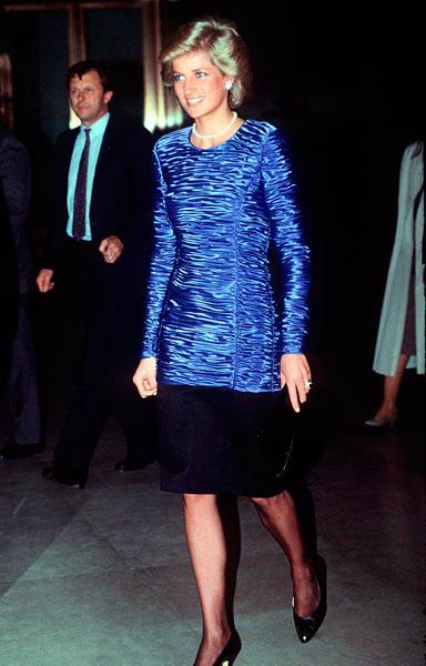 Принцесса Диана, 1989 год