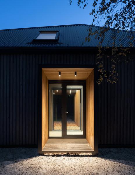 Фото №14 - Современная архитектура: деревянный дом 134 м² в Сибири