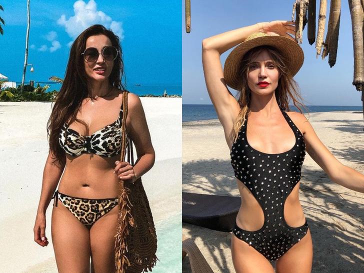 Фото №1 - Леопард, сетка и драпировка: какие купальники в тренде летом 2021 года