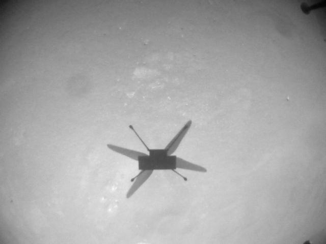 Фото №2 - Марсианский вертолет NASA совершил самый сложный полет