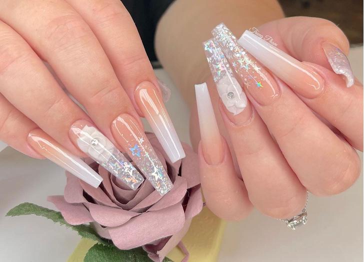 Фото №8 - Балерина: самая модная форма ногтей 2021🩰