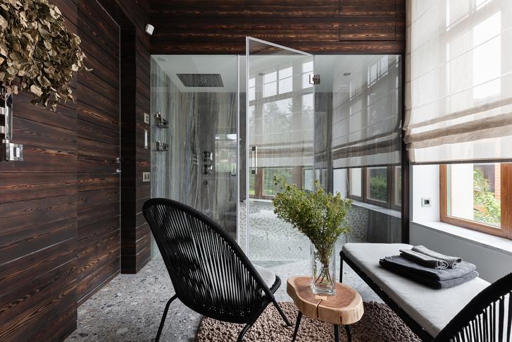 Фото №10 - Загородный дом со спа-зоной и потайной лестницей под Петербургом