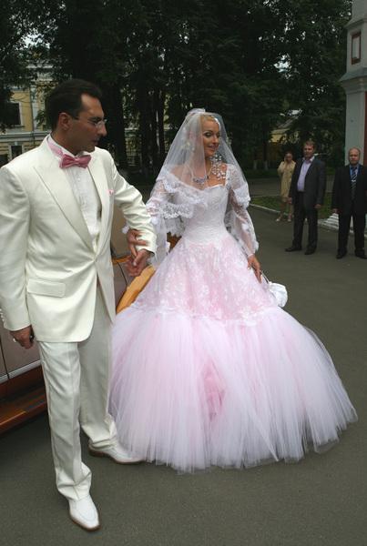 Свадьба Анастасии Волочковой