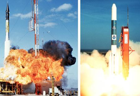Запуски ракет в космос, которые закончились катастрофой (видео)