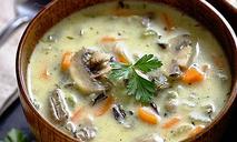 Сливочный суп с грибами (рецепт для мультиварки)