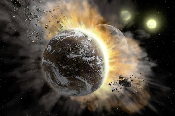 Фото №1 - Могут ли столкнуться две планеты Солнечной системы?