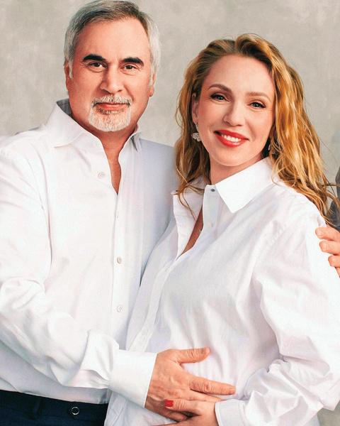 Альбина Джанабаева и Валерий Меладзе фото