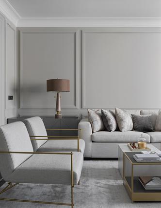 Фото №2 - Новая классика в серых тонах: квартира 100 м² в Москве
