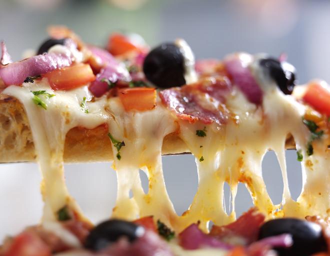 Как сделать пиццу на сковородке в домашних условиях за 10 минут— рецепт