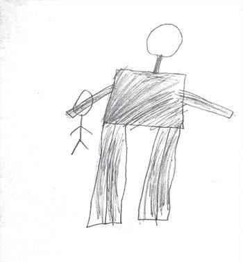 Фото №2 - Анализ рисунка: несчастный серый великан