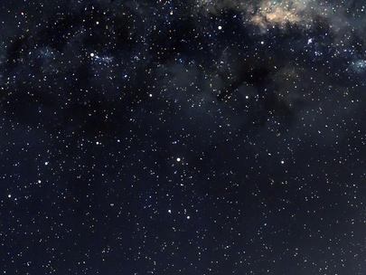 Фото №1 - Тест: Выбери фото звездного неба, и мы скажем, где ты познакомишься со своим будущим парнем