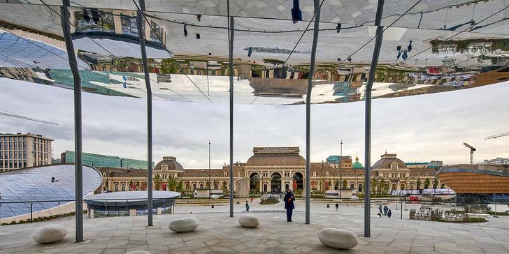 Фото №3 - На Павелецкой площади открылся ландшафтный парк