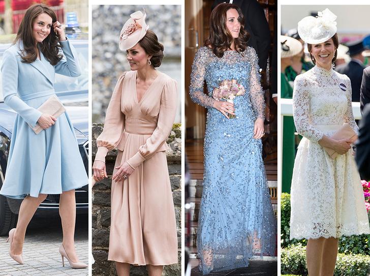 Фото №1 - Гардероб на миллион: самые дорогие наряды герцогини Кейт