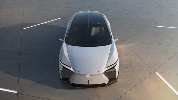 Фото №4 - Lexus представил новый концепт-кар с полностью электронной системой управления
