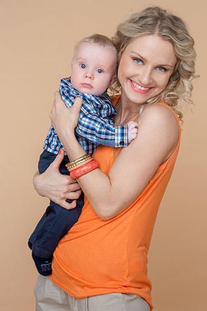 Фото №2 - Екатерина Гордон: неодинокая мама