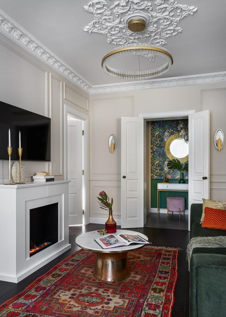 Фото №5 - Квартира в эклектичном стиле в Москве