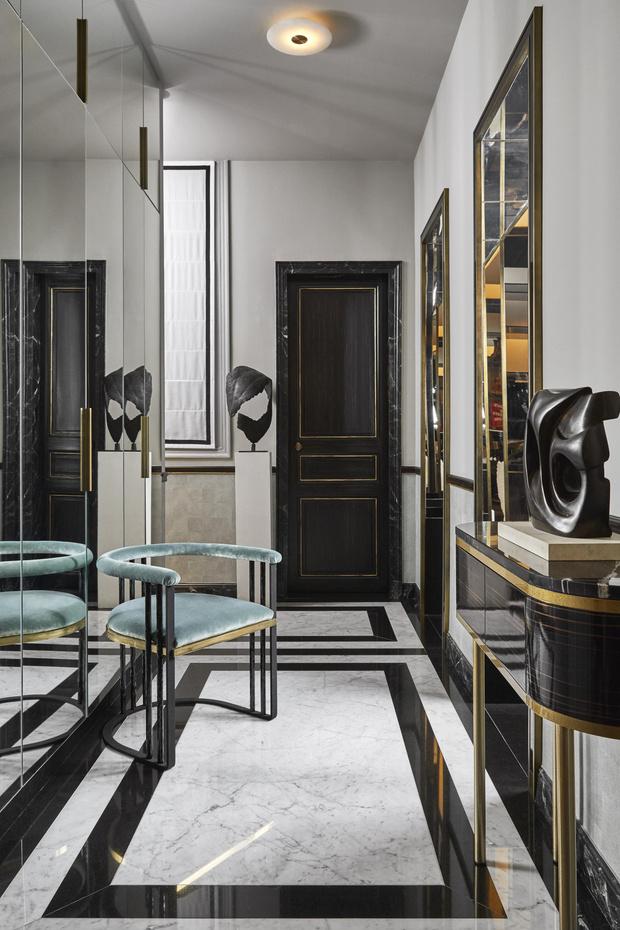 Фото №10 - Квартира с элементами нового ар-деко в Париже