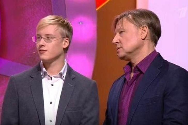 Дмитрий Харатьян с сыном фото