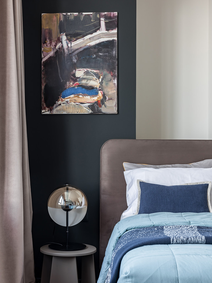 Фото №7 - Серо-голубая квартира в Самаре
