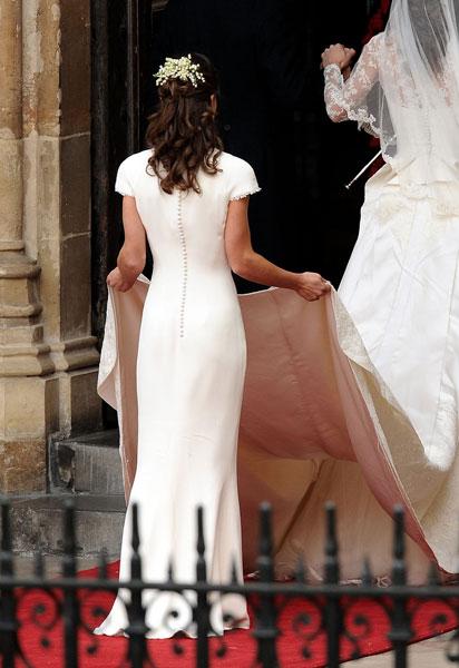 Фото №1 - Пиппа Миддлтон впервые рассказала о «том самом» платье