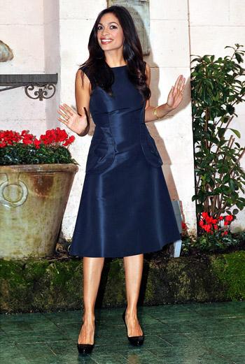 В мае Розарио Доусон исполнится 30, сегодня актриса отлично выглядит