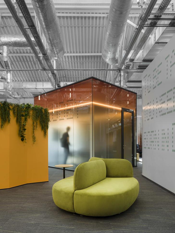 Фото №5 - Digital-интерьер для офиса IT-подразделения банка