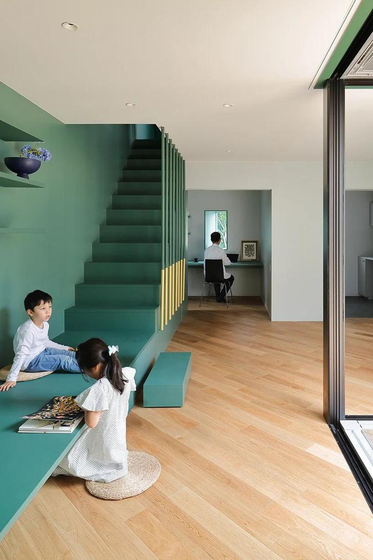 Фото №6 - Дом в Японии с многофункциональным пространством для отдыха