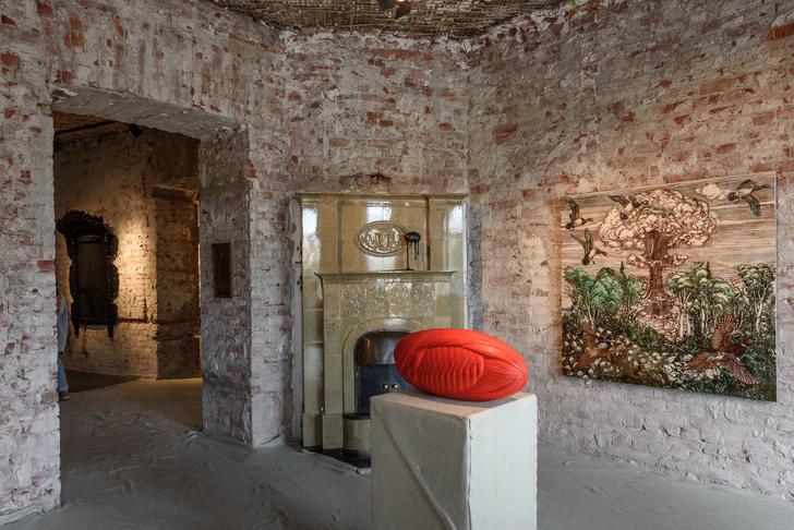 Фото №5 - Кабинет редкостей: квартирная поп-ап выставка современных художников в Петербурге