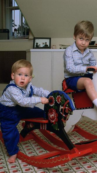 Фото №6 - 15 трогательных фото, доказывающих, что Уильям и Гарри были действительно близки